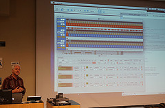 Chris Brown discusses the interface of his interactive polyrhythmic sequencer Ritmos