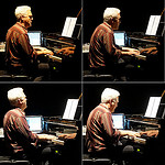 Chris Brown performs piece for solo piano and polyrhythmic software in ATLAS Black Box theater